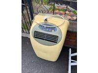Free to collect. Air conditioner and tattoo artists chair.