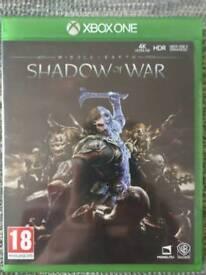 Shadow of war xbox one