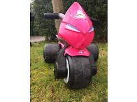 Kids electric motor trike in pink - 3 Wheels Girl Samurai Avigo