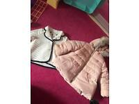 7x baby girl jackets