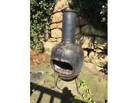 Cast iron chimnea