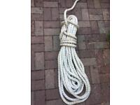 Boat tow or mooring rope