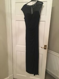 Black evening dress size 10