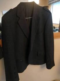 Charcoal Tweed jacket and waistcoat