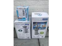 Intex 28684 Electric Pool Heater, Krystal Clear Filter Pump & Coolwater Pool Starter Kit