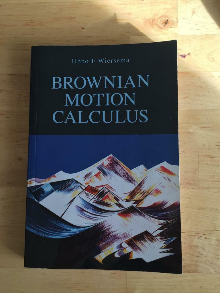 Brownioan motion calculus