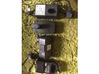 For sale two 24 volts batteries and two Chargers