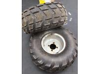 Quad tyres quad wheels