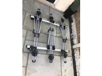 Thule bike carriers x3