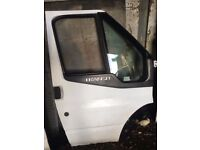 Ford Transit driver side door Mk7 White breaking