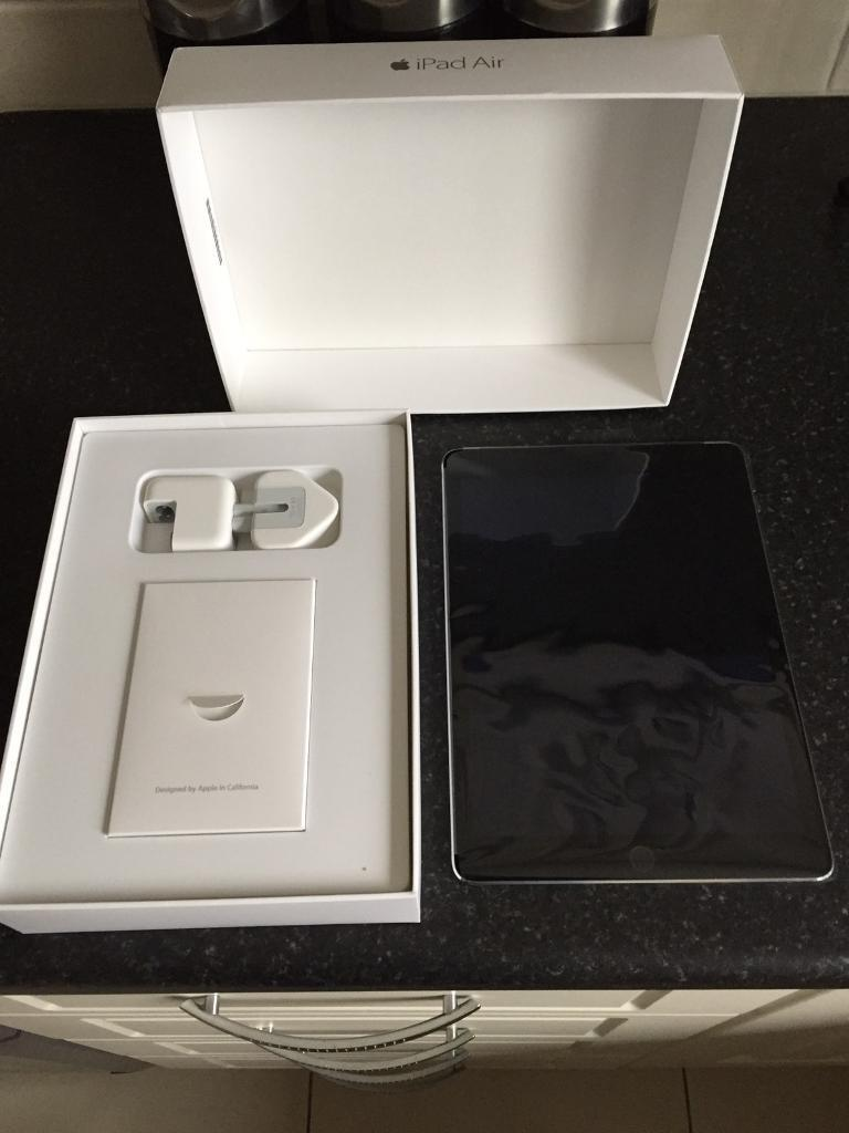Apple iPad Air 2 space gray 16gb wifi and cellular unlocked in as new conditionin Newtownabbey, County AntrimGumtree - Apple iPad Air 2 space gray 16gb wifi and cellular unlocked so any sim will work in it this is in as new condition as it hasnt had much use this comes with original box sim pin genuine apple charging plug and lead thanks for looking