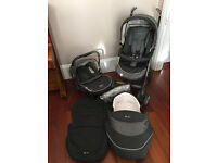 Beautiful Silver Cross 3D Metropolitan 3 in 1 Travel System * Immaculate *