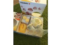 Medula swing maxi double electric breast pump for sale. Great condition and in original box