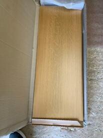 Oak end panel