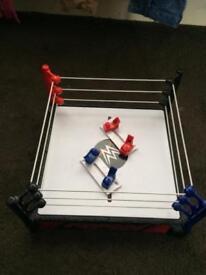 WWE Wrestling Ring / Wrestler Figure Toys