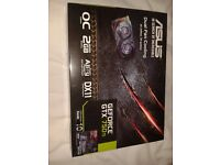 ASUS GeForce GTX 750 TI Graphics card. Gaming graphics card.