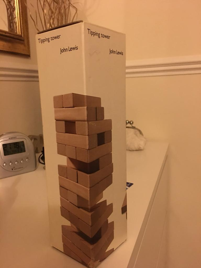 Wooden blocks game John Lewis