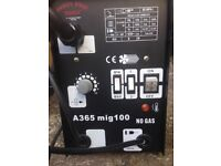 "Mig Welder 10"" Amp - No Gas type, used once."