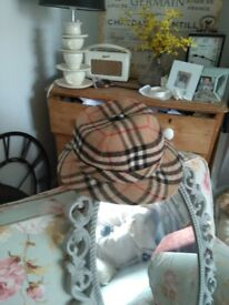 Vintage Burberry Hat