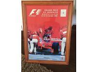 Fantastic Large F1 Grand Prix De Monaco 1999