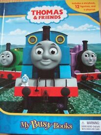 Thomas & Friends Busy Book Storybook 12 Figurines & A Playmat extra figures