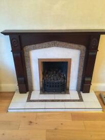Fireplace perfect condition