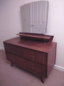 Retro Remploy dressing table plus another dressing table