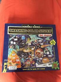 Horrible Science Smashing Solar System Jigsaw