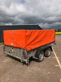 Ifor Williams GD105 MK3 Twin Axle Trailer with Heavy duty cover
