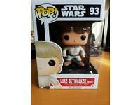 Star Wars Funko POP! Bespin Luke Skywalker #93