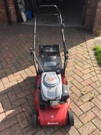 Petrol mower for sale (used once) cost £175