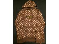 Supreme Louis Vuitton Mens Hoodie Great Christmas Gift
