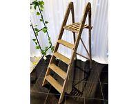 Wedding love ladder vintage rustic
