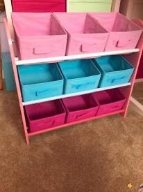 Girls toy box toybox storage