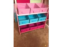 Girls toy box toybox storage