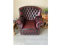 New Chesterfield 3 seater Sofa and Chair