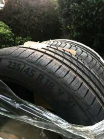 2 NWT TYRES for sale - Continental PremiumContact 6