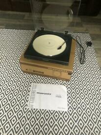 Record Player Turntable