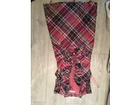 Ladies Ted Baker checked dress