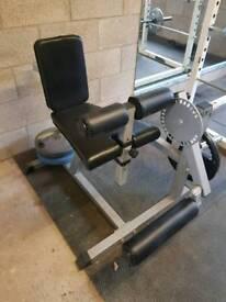 Leg curl/extension machine