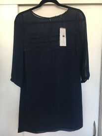 French Connection Navy Dress size 6