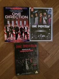 One Direction DVD's