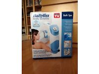 Boxed/Unused Babyliss Jet Bubble Bath Spa