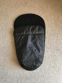 Black universal footmuff