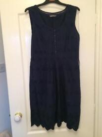 Navy dress sized 14