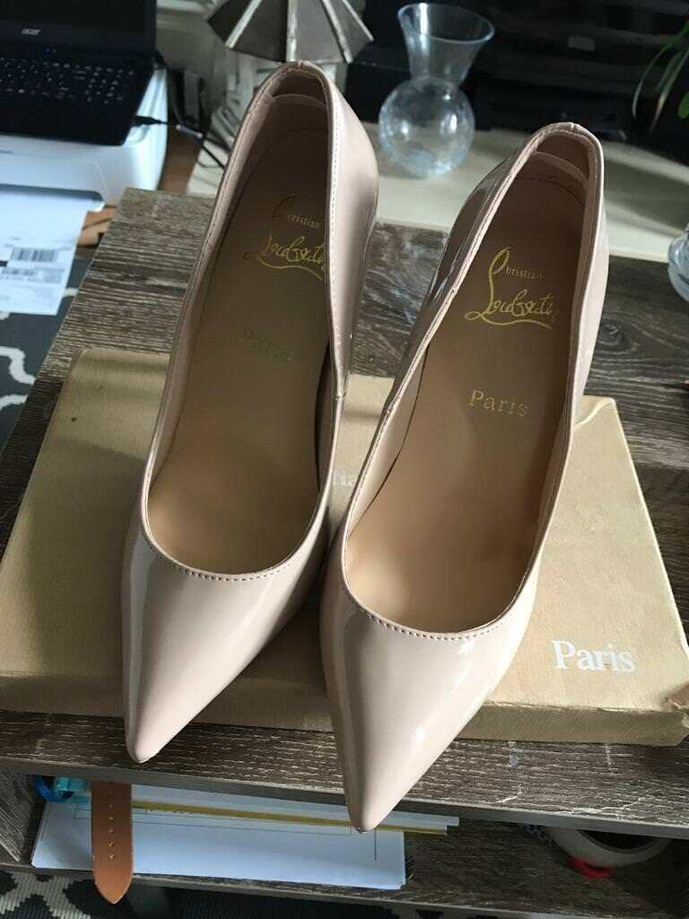 """best sneakers c0dae dc0f6 Pre-Owned Christian Louboutin """"So Kate"""" Heels. Size 5. FREE UK P&P 