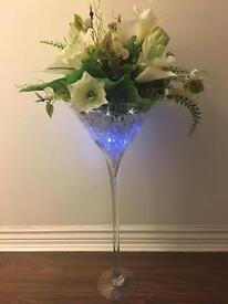 Martini Vases Centrepieces and more