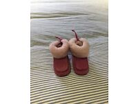 Pink Baby UGG boots size UK 2