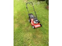 Honda powered lawnmower self propelled