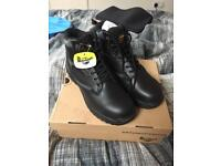 steel toe safety boots dr marten size 10